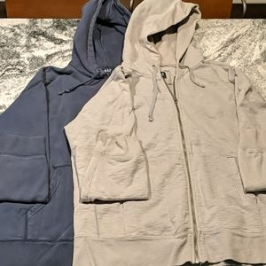 2 Gap XL heavy duty hooded sweatshirts